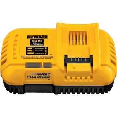 DeWalt 20 Volt MAX and 20 Volt/60 Volt Flexvolt Lithium-Ion Fan-Cooled Fast Battery Charger