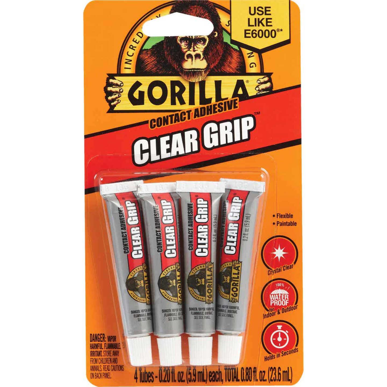 Gorilla Clear Grip 0.2 Oz. Multi-Purpose Adhesive (4-Pack) Image 1