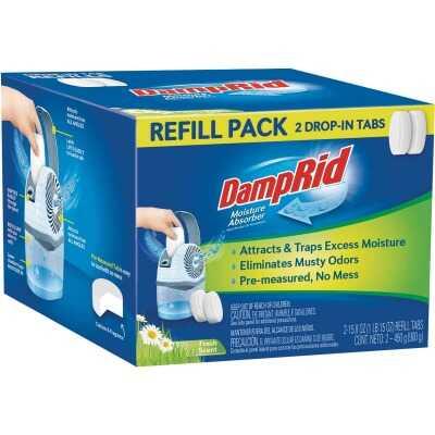 DampRid 15.8 Oz. Fresh Scent Spill Resistant Moisture Absorber Refill (2-Count)