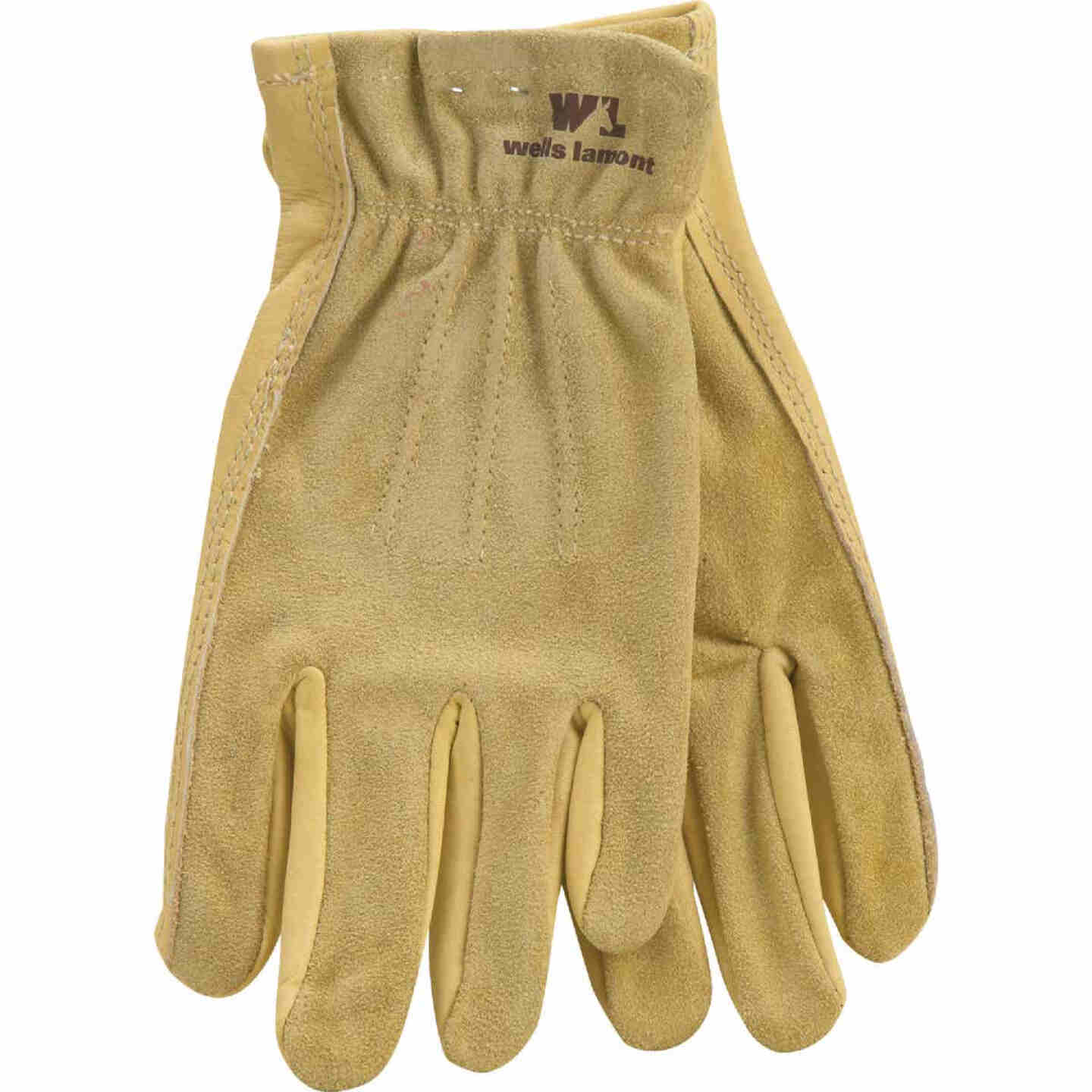 Wells Lamont Women's Small Grain Cowhide Leather Work Glove Image 1