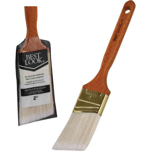 Best Look General Purpose 2 In. Angle Polyester Paint Brush