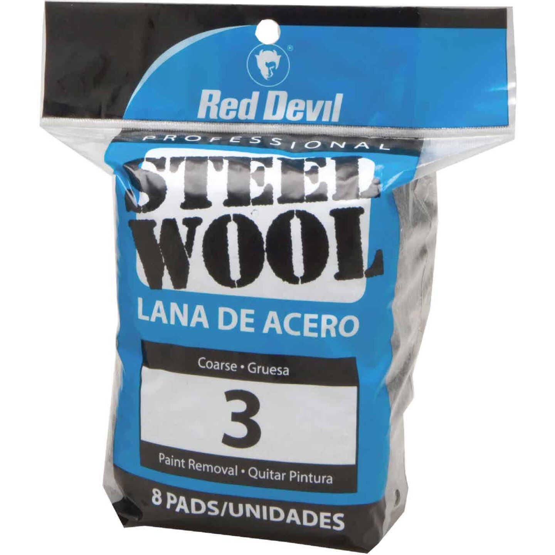 Red Devil #3 Steel Wool (8 Pack) Image 1